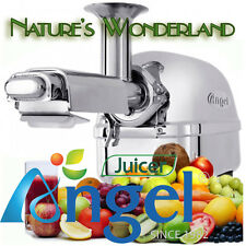 ANGEL Juicer 5500 Superior Angelia 2016 Stainless Steel Twin Gear Cold-Press