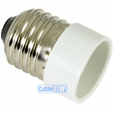 E27 Edison Screw to Small E14 SES Light Bulb Fitting Lamp Converter Connector