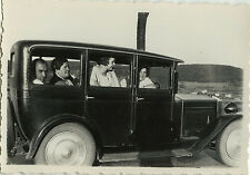 PHOTO ANCIENNE - VINTAGE SNAPSHOT - VOITURE TACOT FEMME AUTOMOBILE - CAR WOMAN