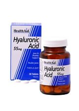 HEALTH AID HYALURONIC ACID 55MG - 30 TABLETS