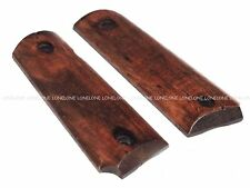 China Made Airsoft Hunting Swat Wood Panel Grip Cover For M1911 MEU #11