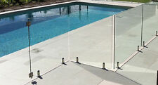 12mm HEAT SOAKED TOUGHENED GLASS FRAMELESS POOL FENCE GLASS PANEL 1500mm*1200mm