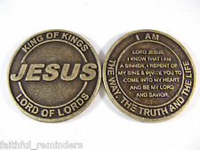 JESUS Salvation Coin - Lot of 25 coins @ $.70 per coin