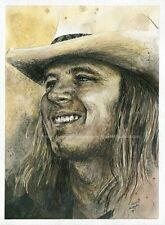 Lynyrd Skynyrd RONNIE VAN ZANT  Rare Interview Southern Rock Freebird * Alabama