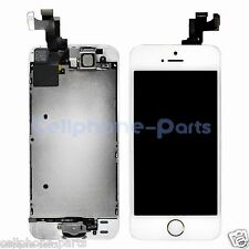 OEM iPhone 5s LCD Screen Digitizer Touch + Frame, Camera & Home Button, For Gold