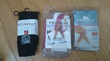 NEW Mondor 3338 3350 251 Ice Figure Skating Tights & Jr Black Leggings Lot 3