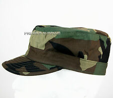 US Army Woodland Camo BDU Cap, NEW