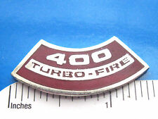 400 TURBO  FIRE  engine - hat piin , lapel pin , tie tac , hatpin GIFT BOXED lg