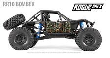 Axial RR10 Bomber Body Graphic Wrap Skin- Mossy Camo