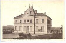 CP 69 RHÔNE - Saint-Romain-de-Popey - La Mairie et les Ecoles