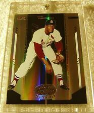 BOB GIBSON 2004 LEAF CERTIFIED MIRROR BLACK MASTERPIECE #226 SERIAL #1/1