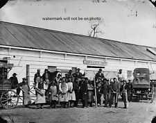 "Federal Workmen in front of the Ambulance Shop 8""x10"" Civil War Photo Picture 97"