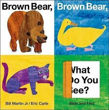 Brown Bear, Brown Bear, What Do You See? by Bill, Jr. Martin (2010, Board Book)
