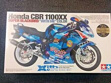 "Tamiya 1/12Honda CBR 1100XX (Super Blackbird ""With Me"" Color) Model Kit - 14079"