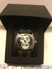 THE MISFITS WRISTWATCH 2007 MINT IN BOX CRIMSON GHOST DANZIG