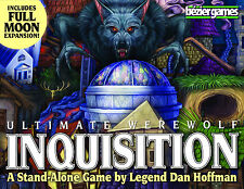 Ultimate Werewolf Inquisition w/ Full Moon Expansion Family Party Bezier Games