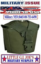 Military Issue OD Green Molle II Canteen Cover By Tactical Assault Gear