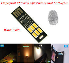 New MINI Touch Switch USB mobile power camping lamp LED night light Warm lamp E
