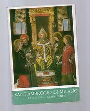 sant ambrogio di milano - la sua vita la sua gente