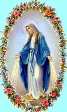 Mary Mother Of Jesus~counted cross stitch pattern #1456~Religious Mary Chart