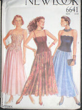 New Look 6641 Misses Top & Skirt Size 6 8 10 12 14 16 Party Prom Bridesmaid