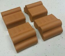 "4 X 1.5"" ANTIQUE CLAY/TERRA COTTA POT/PLANTER/VASE ANTIQUE FEET/RISERS/PEDESTALS"
