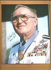 """Col. George Bud Day Medal Of Honor """"POW"""" Autographed 8x10 Picture Autograph"""
