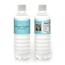 10 Sweet Sixteen 16 Birthday Favor Personalized WATER BOTTLE LABELS