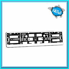 Matte NEVE FINITURA BIANCA ABS PC LICENSE PLATE HOLDER Surround per qualsiasi auto nuovo!