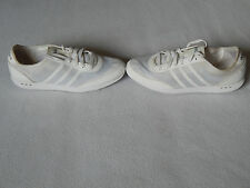 ADIDAS NEO GROOVE TM WOMENS WHITE TRAINERS SHOES ,UK 8 ,EURO 42