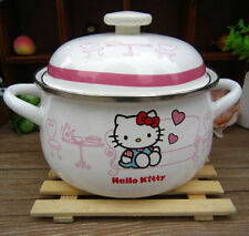 Cartoon Cookware Hello Kitty Pattern 18 cm with Lid 2L Easy Use BOILING POT
