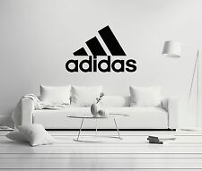 Adidas Logo Sports Wall Decal Decor For Car Home Fitness Brand X-Large