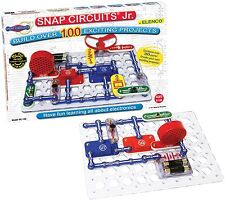 Elenco Snap Circuits Jr SC-100 Educational Science Electricity Kit NEW