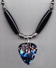 You Me At Six Band Photo Guitar Pick Necklace