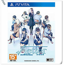 PSV Root Letter Chinese 方根書簡 中文版 SONY PLAYSTATION VITA Games Kadokawa Adventure