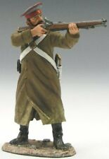 KING & COUNTRY CRIMEAN WAR CRW008 RUSSIAN GUNNER STANDING FIRING RIFLE MIB