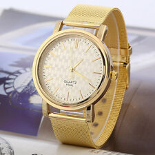 Casual Luxury Mens Womens Stainless Steel Band Dress Quartz Wrist Watch Watches