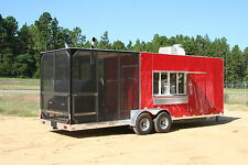 2017 Barbeque Concession Trailer / Mobile Kitchen - DELUXE MODEL
