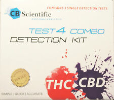 THC & CBD potency Test Kit for Cannabis Marijuana