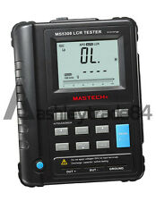 MASTECH MS5308 Handheld Portable LCR Meter 100K Hz RS232 Serial/Parallel NEW