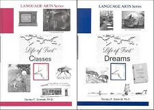 Life of Fred CLASSES & DREAMS #3 & 4 in the High School Language Arts Series NEW