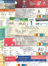 BUNDLE 14 WALES (HOMES) INT RUGBY TICKETS v ARGENTINA AUSTRALIA CANADA ENGLAND