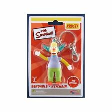 The Simpsons KRUSTY the Clown Bendable Keychain