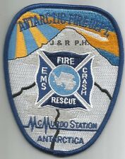 """Navy - McMurdo Station C.F.R., Antarctica new style  (3.5"""" x 4.5"""") fire patch"""