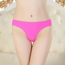 2016 Hot Women Invisible Underwear Thong Panties Spandex Gas Seamless Crotch