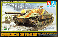 Tamiya 32511 German Tank Destroyer Hetzer Mid Production 1/48 scale kit