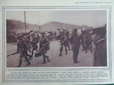 1914 BRITISH JAPANESE TSING TAU; EMDEN, VON MULLER WWI WW1 (1 SHEET, BOTH SIDES)