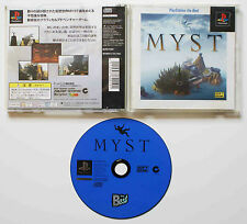 MYST sur Sony PLAYSTATION 1 PS1 Japan