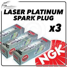 3x NGK SPARK PLUGS Part Number PFR6B Stock No. 3500 New Platinum SPARKPLUGS