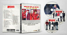 BigBang - Live Show Collection 56 (Chinese 3DVD, 56 tracks, NEW, SEALED, K-POP)